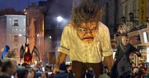 Macnas Halloween parade 26 Octobe 2014